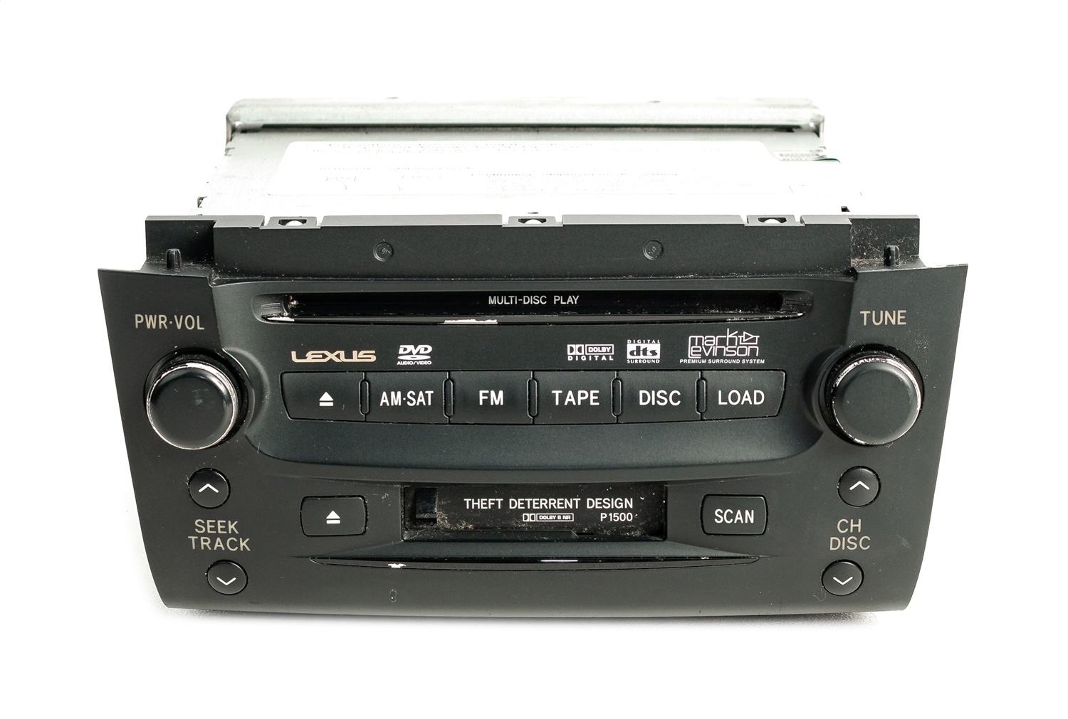 1 Factory Radio 638-50112-NOA AM FM Radio Cassette CD DVD Player