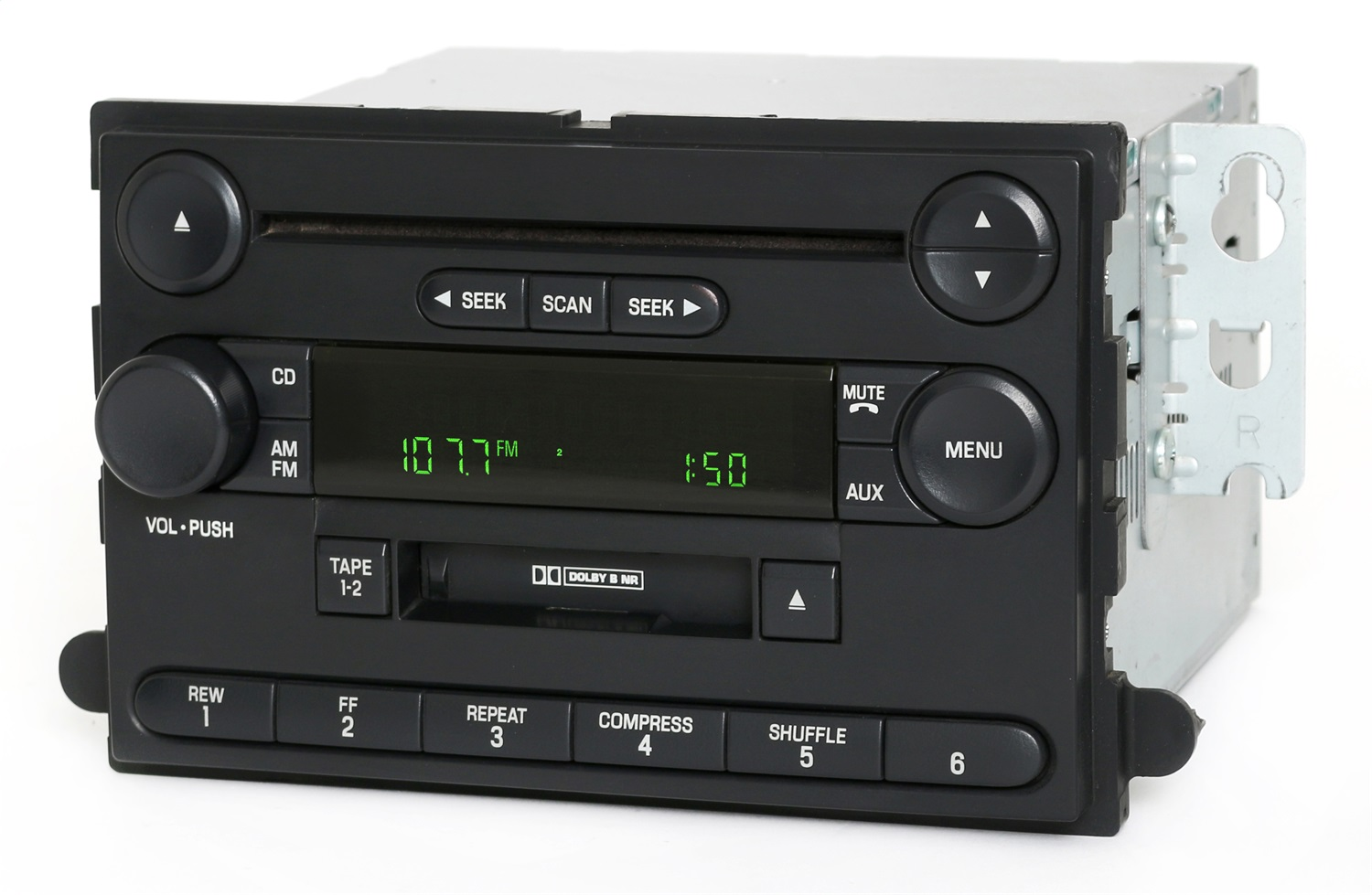 1 Factory Radio 638-01943-NOA AM/FM Radio CD Cassette Player