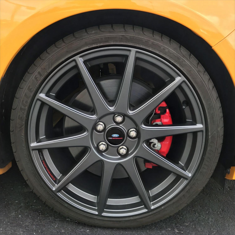 Ford Performance Parts M-1007K-FST1908MG Wheel Set w/TPMS Kit Fits 13-18 Focus