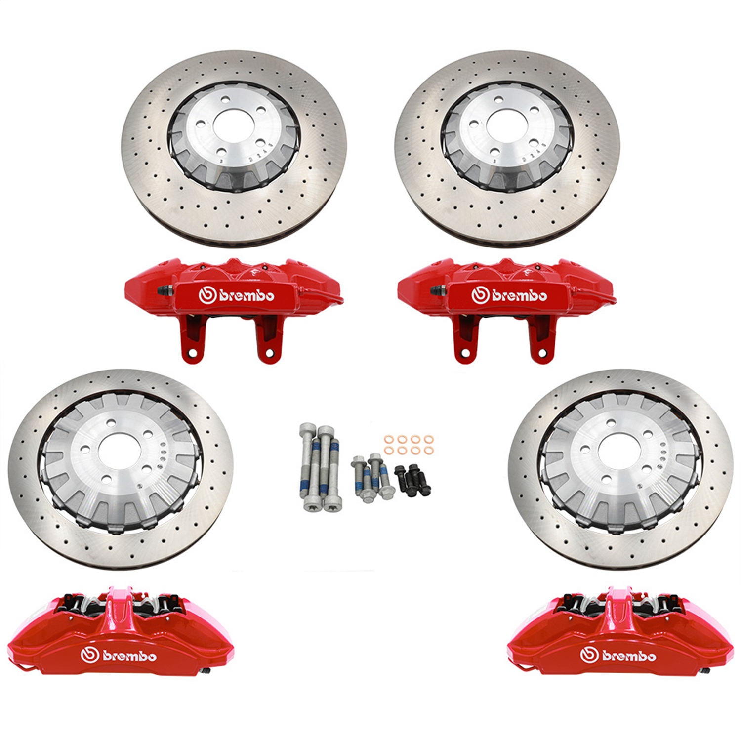 Ford Performance Parts M-2300-AA Disc Brake Upgrade Kit Fits 15-18 Mustang