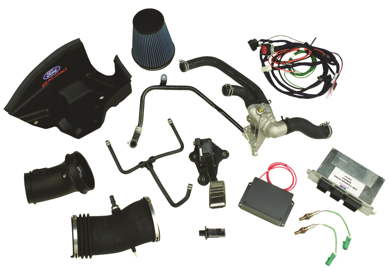 Ford Racing M-6017-54SC Engine Control Pack Fits 07-12 Mustang