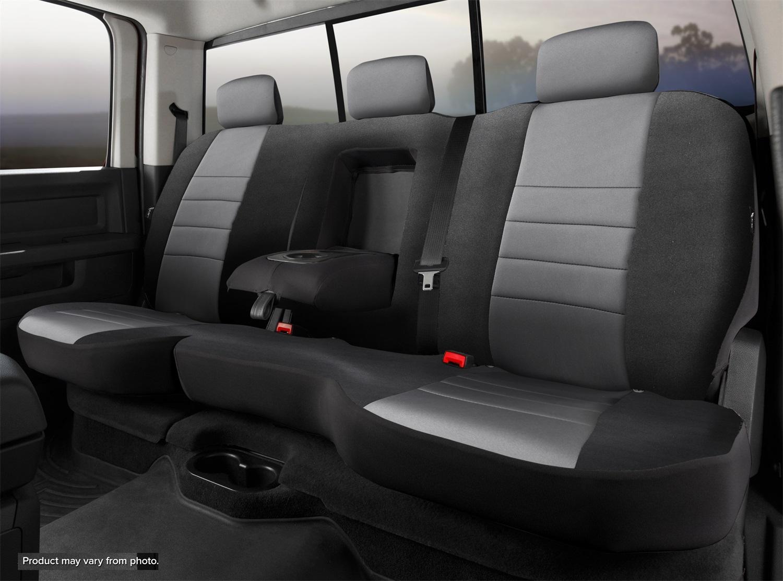 Fia NP92-70 GRAY Neo Neoprene Custom Fit Truck Seat Covers Fits Equinox Terrain
