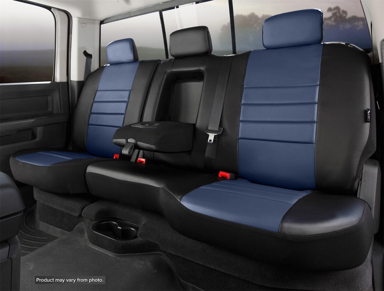 Fia SL62-70 BLUE LeatherLite Custom Seat Cover Fits 18-20 Equinox Terrain