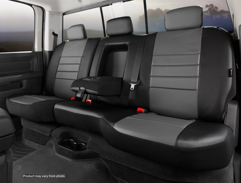 Fia SL62-70 GRAY LeatherLite Custom Seat Cover Fits 18-20 Equinox Terrain