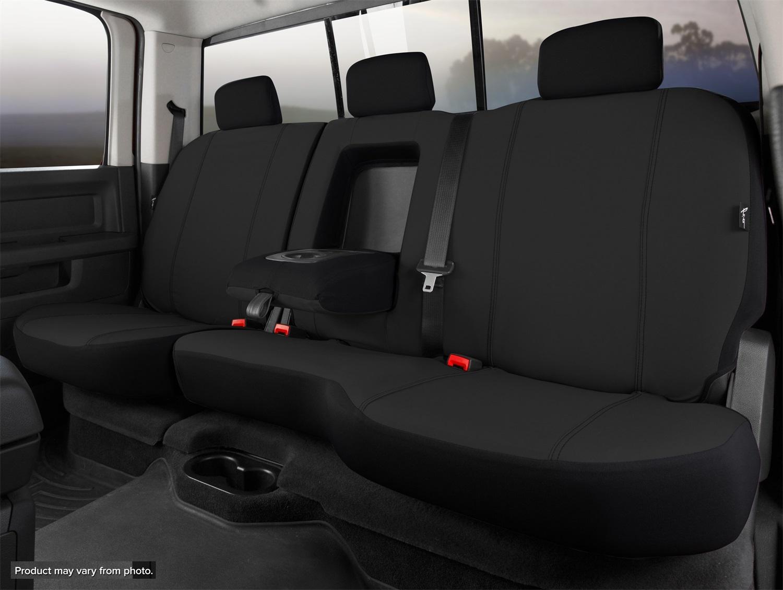 Fia SP82-70 BLACK Seat Protector Custom Seat Cover Fits 18-20 Equinox Terrain