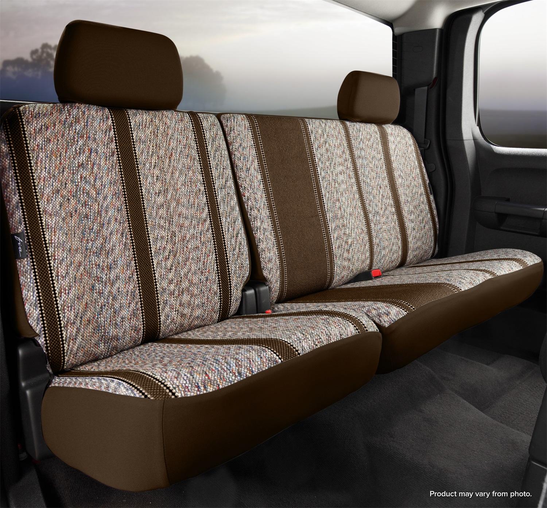 Saddle Blanket, Fia TR42-38 Brown Custom Fit Rear Seat Cover Split Seat 60//40 Brown