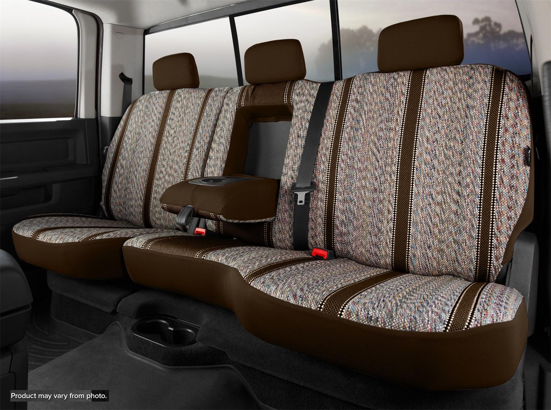 Fia TR42-70 BROWN Wrangler Custom Seat Cover Fits 18-20 Equinox Terrain