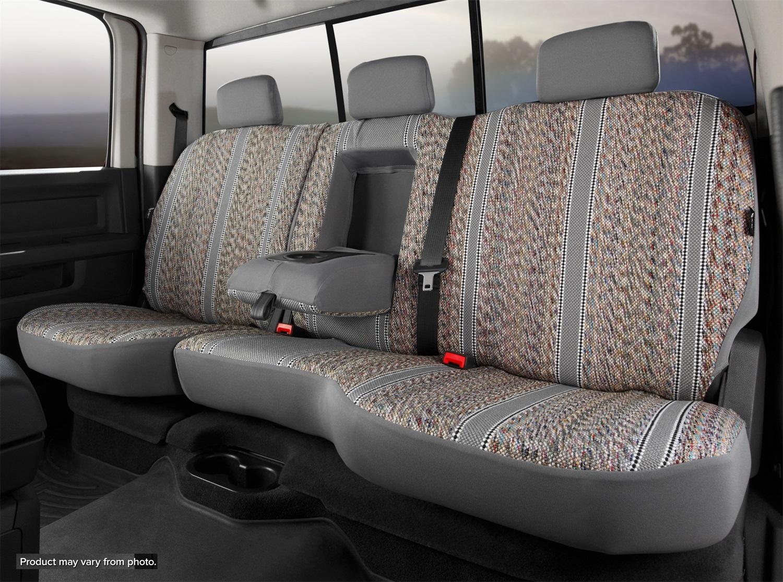 Fia TR42-70 GRAY Wrangler Custom Seat Cover Fits 18-20 Equinox Terrain
