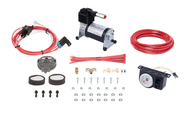 Level CommandT II Standard Duty Air Compressor System, Incl. Compr., Elec./Pneumatic Sw., Provides Equal Inflation Of Air Helper Springs