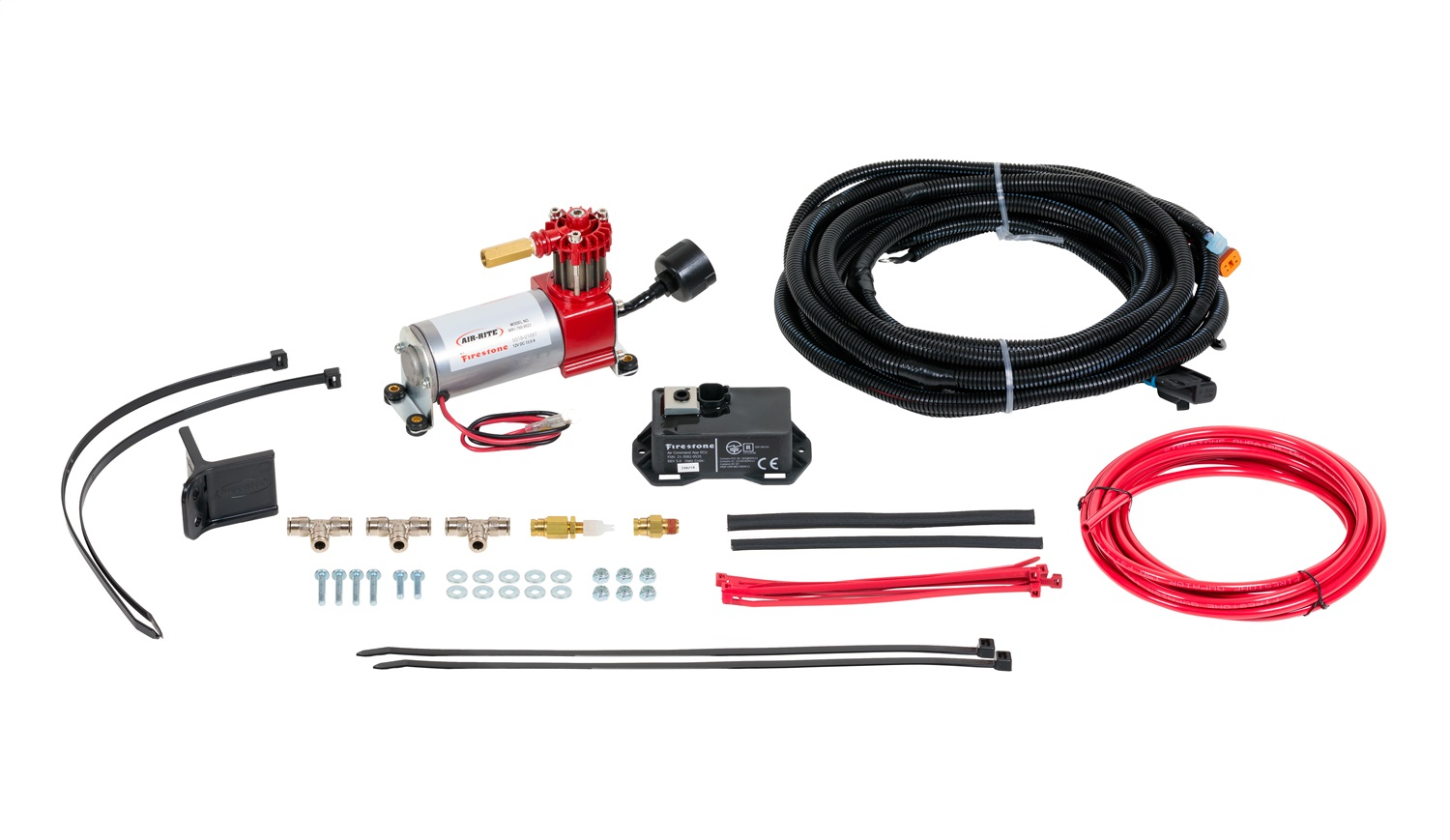 Wireless Air Command Kit, w/App, Can Be Download From Google Play Or Apple Store, Incl. Air Compressor/Controller/Wire Harness/Air Line/Fittings/And Hardware