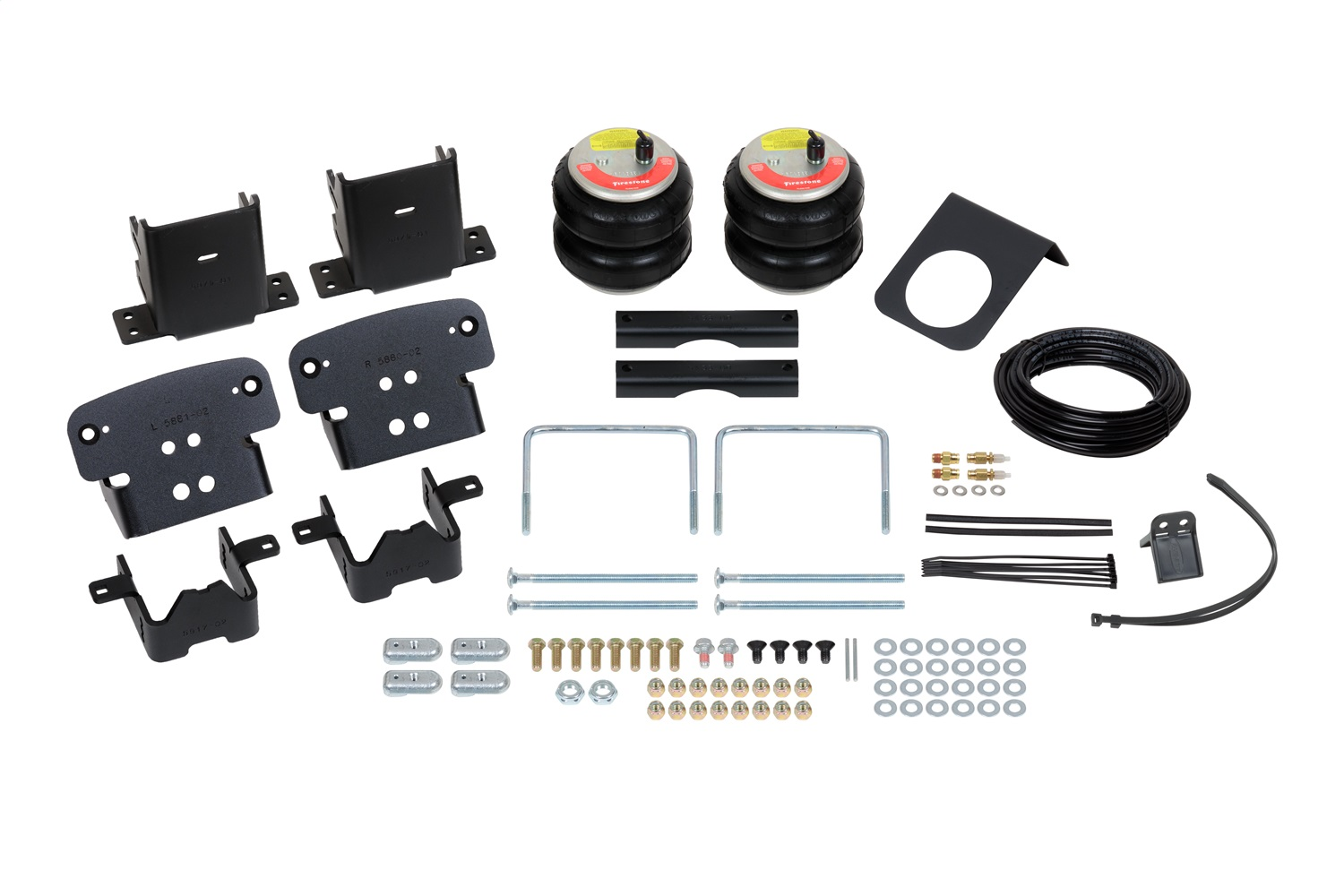Firestone Ride-Rite 2712 RED Label Ride Rite Extreme Duty Air Spring Kit