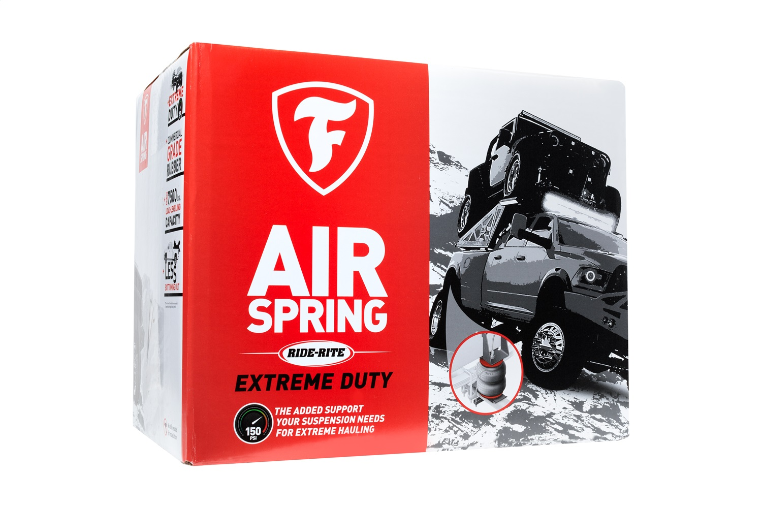 Firestone Ride-Rite 2711 RED Label Ride Rite Extreme Duty Air Spring Kit