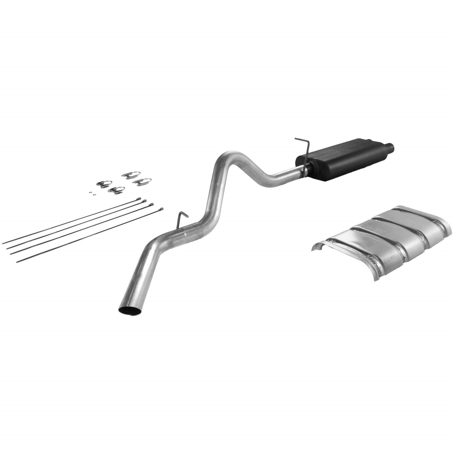 Flowmaster 17224 American Thunder Cat Back Exhaust System