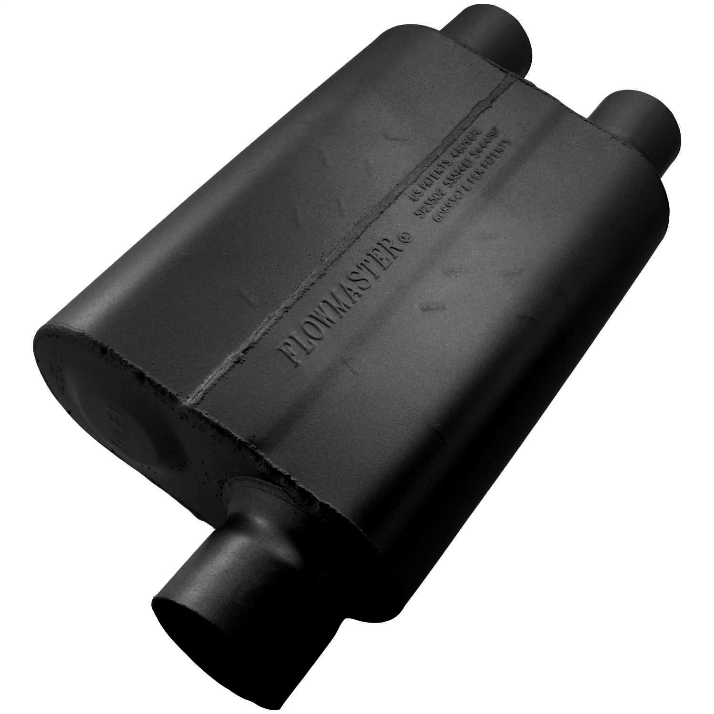 "Flowmaster 9430472 Super 44 Delta Flow Muffler 3 In Center Inlet//2.25/"" Dual Out"