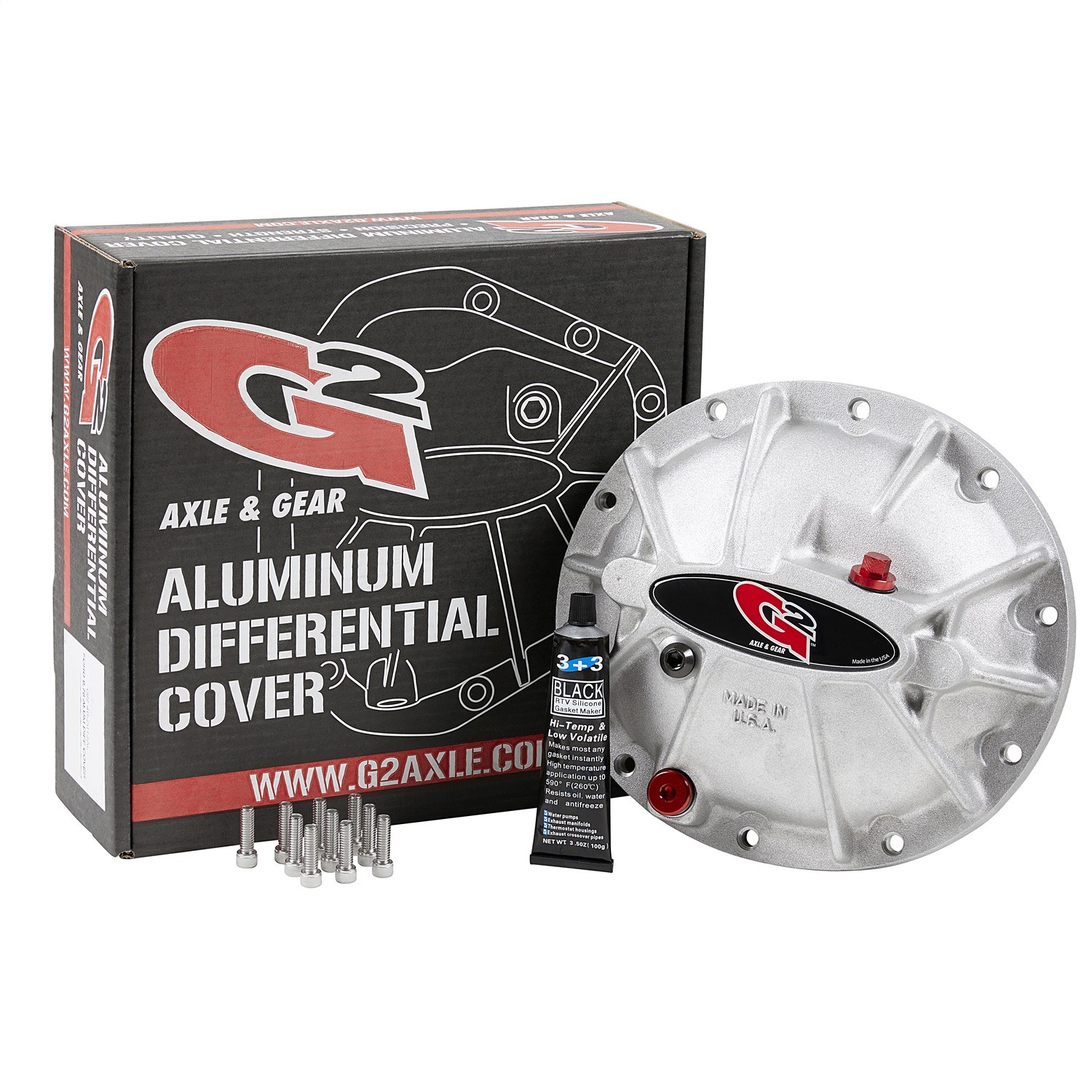 G2 Axle and Gear 40-2033ALB Differential Cover