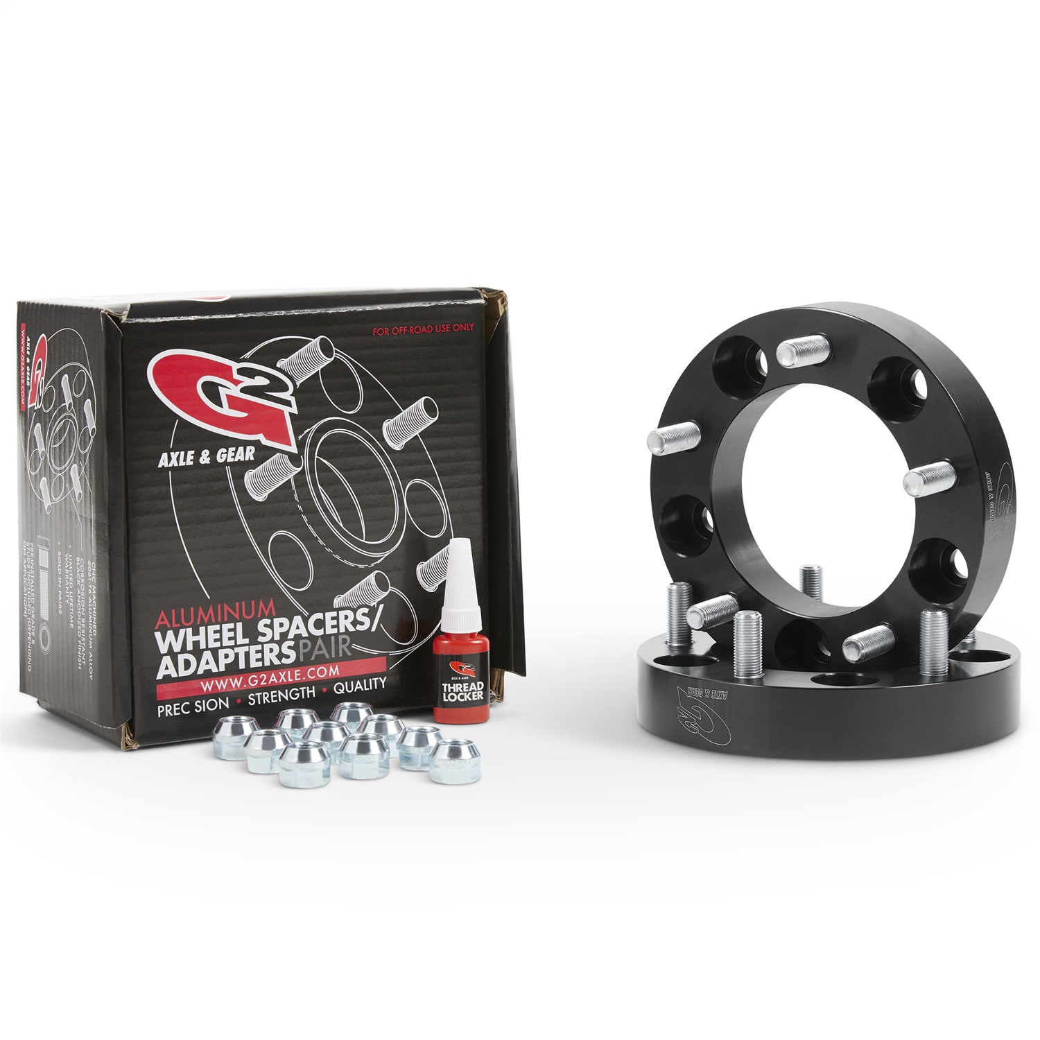 G2 Axle and Gear 93-85-125 Wheel Spacer Kit