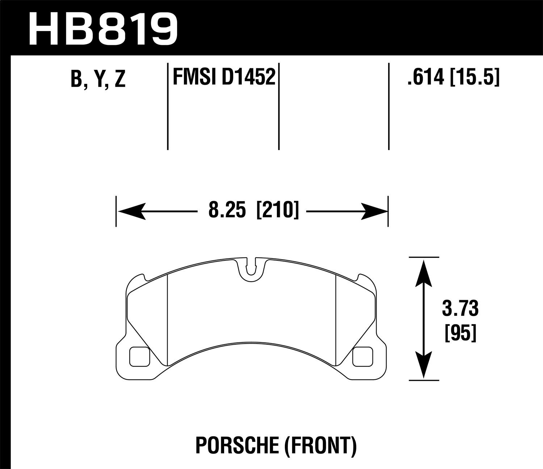 Hawk Performance HB647B.692 HPS 5.0 Disc Brake Pad