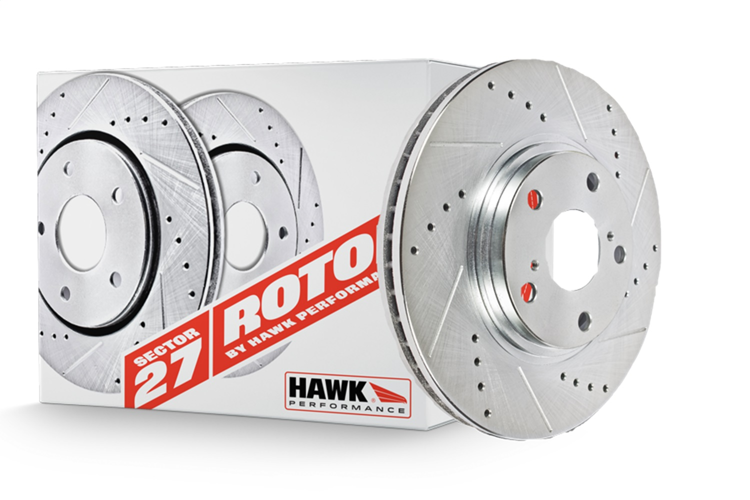 Hawk Performance Sector 27 Brake Rotors Hawk Performance HR4187 Sector 27 Rotor