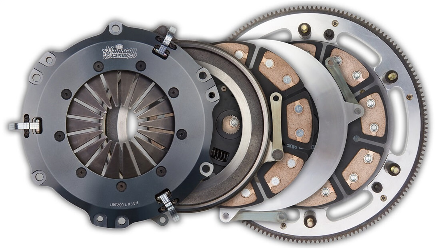Hays 96-301 Dragon Claw Clutch Kit Fits 08-17 Challenger