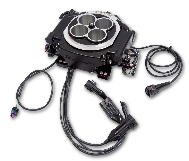Holley EFI 550-519 SUPER SNIPER 4 INJ; BLACK