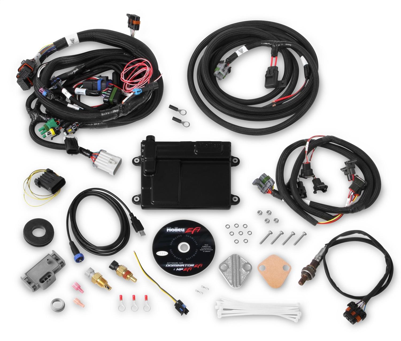 Holley EFI 550-606N HP ECU AND HARNESS; FORD MPFI; NTK