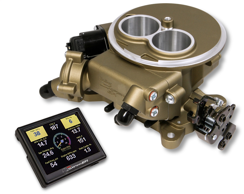 Holley EFI 550-851 SNIPER 2300; GOLD