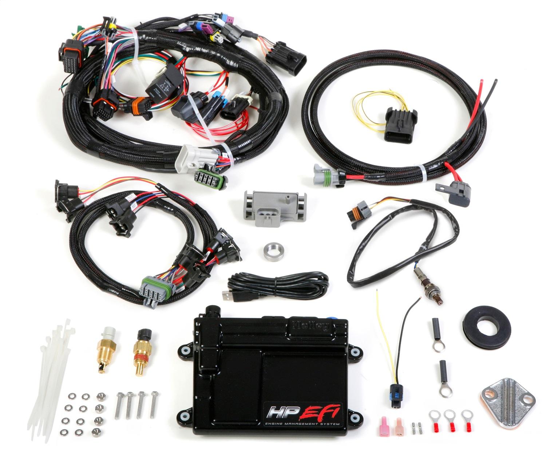 Holley EFI 550-604N HP ECU AND HARNESS; MPFI; NTK
