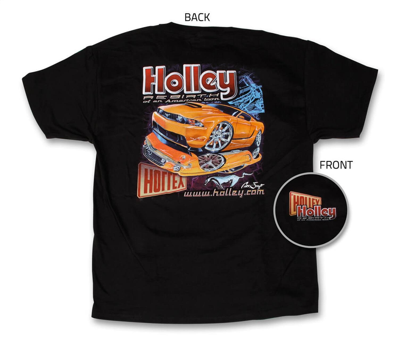 Holley Performance 10013-XLHOL Mustang Re-Birth T-Shirt