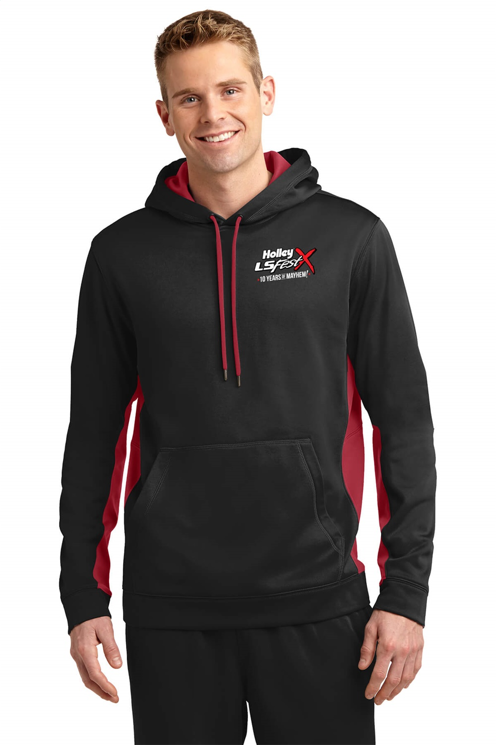 Holley Performance 10223-MDHOL Holley LS Fest 10 Year Anniversary Event Hoodie