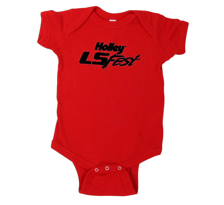 Holley Performance 10241-1ZHOL Holley LS Fest Logo Bodysuit
