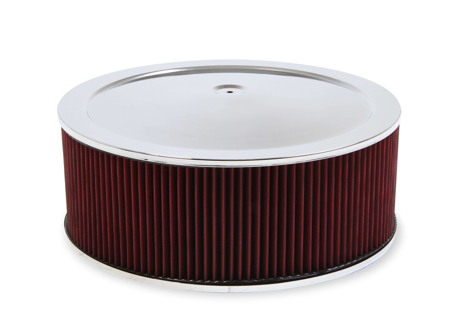 """Holley 120-146 Air Filter Assembly Chrome Air Cleaner Assembly 14/"""""""