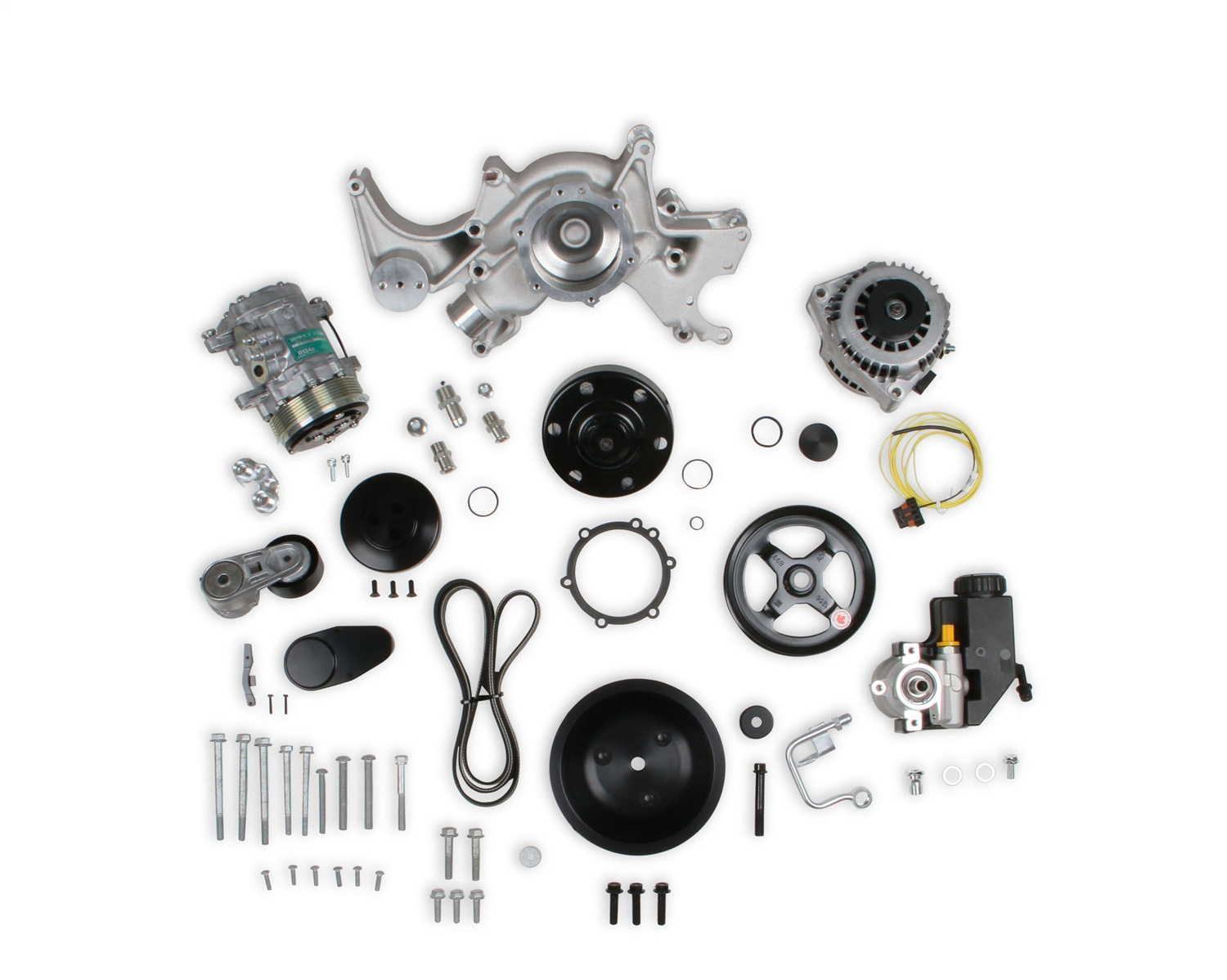 Holley Performance 20-240 Mid-Mount Complete Accessory Drive System