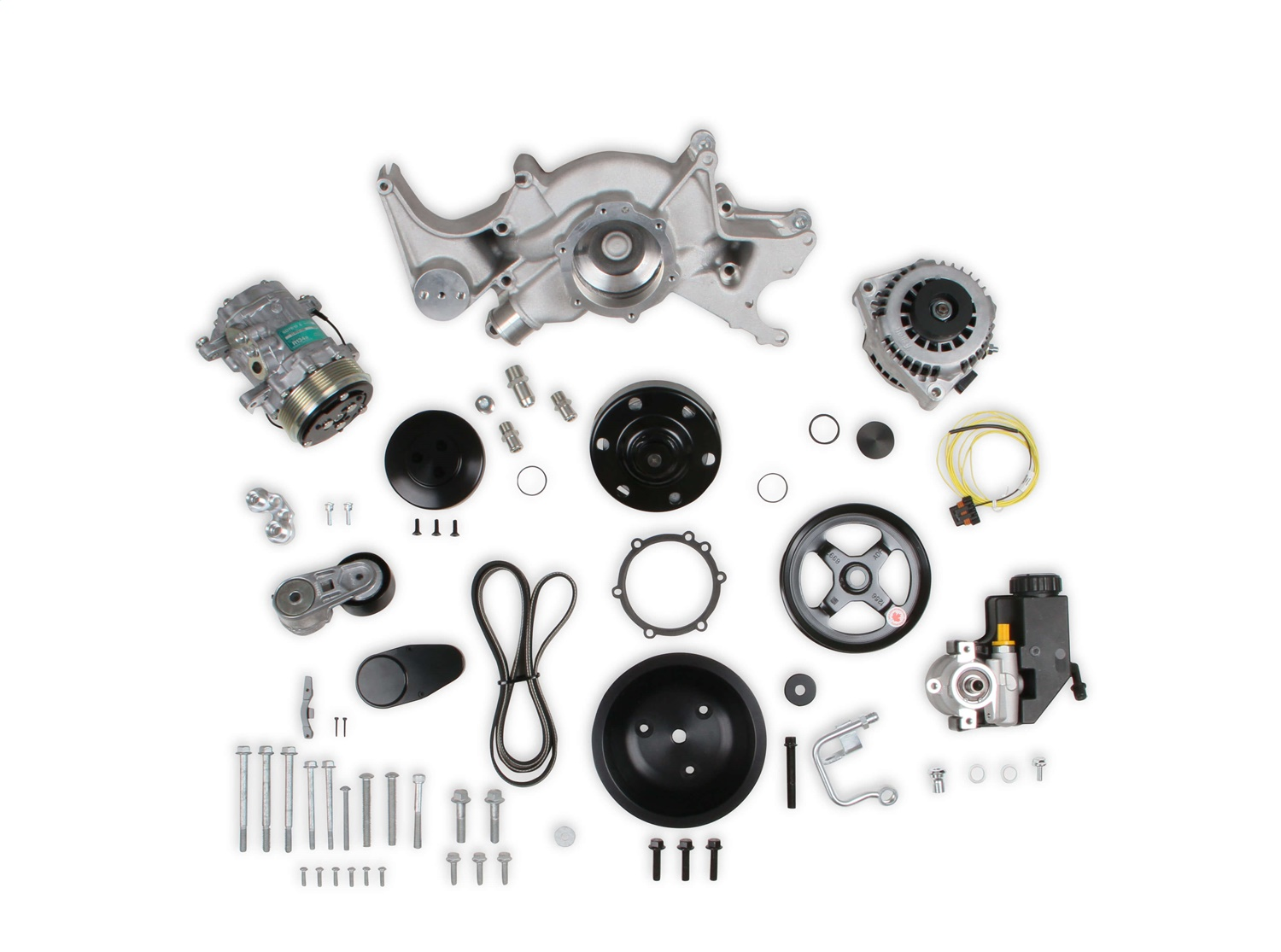 Holley Performance 20-242 Mid-Mount Complete Accessory Drive System