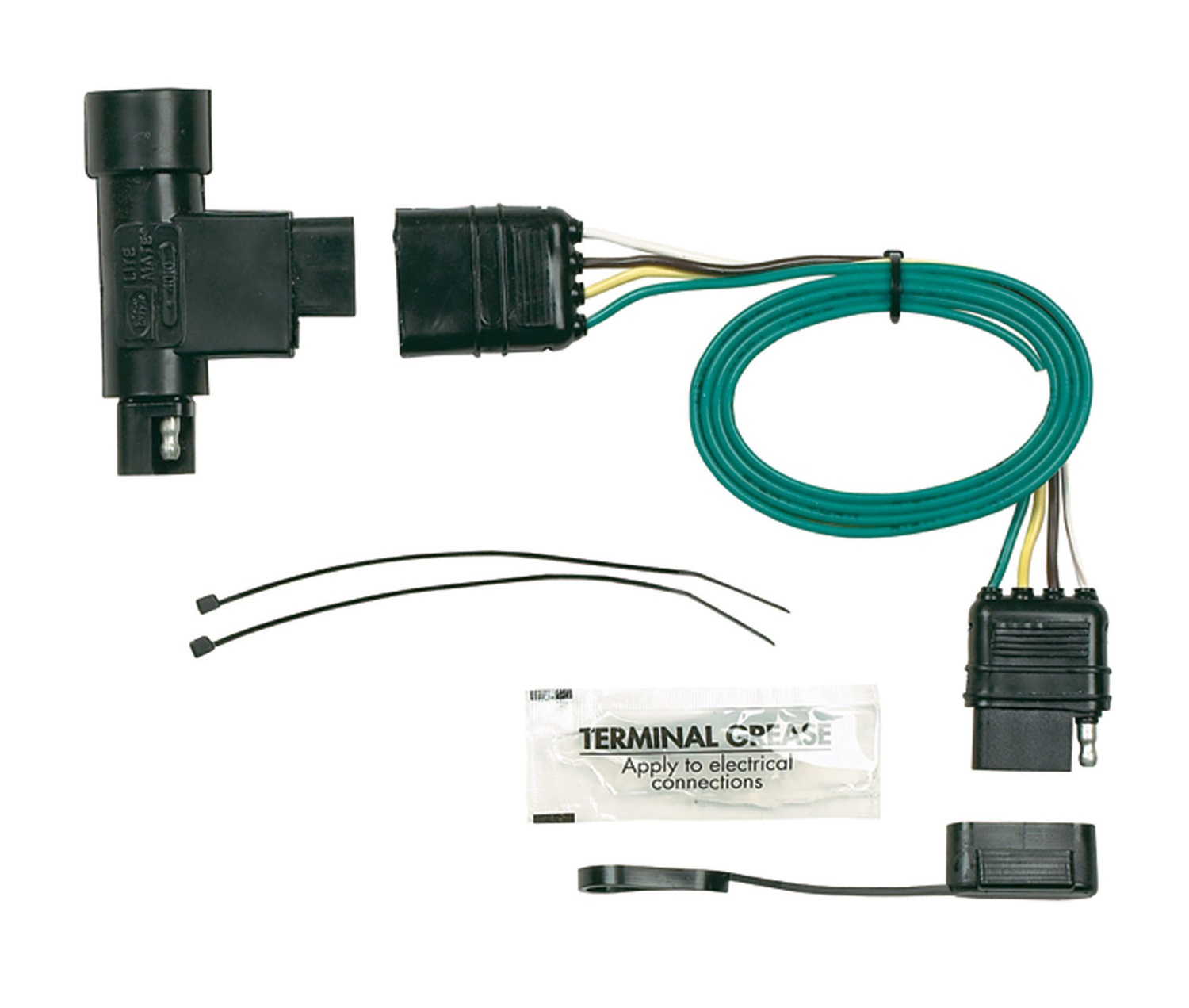 Hopkins Towing Solution 40105 Plug-In Simple Vehicle To Trailer Wiring  Harness Plug-In