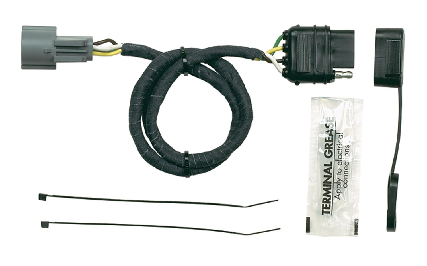 Sentinel Hopkins Towing Solution 40455 Plug-In Simple Vehicle To Trailer  Wiring Harness