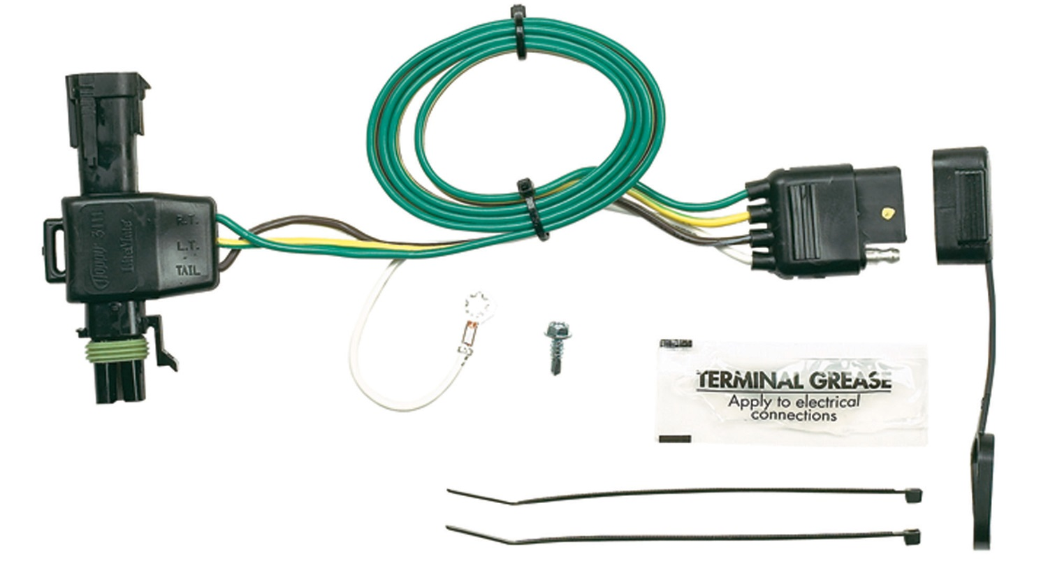 hopkins towing solution trailer wire connector isuzu hombre gmc rh ebay com s10 trailer light wiring chevy s10 trailer wiring harness