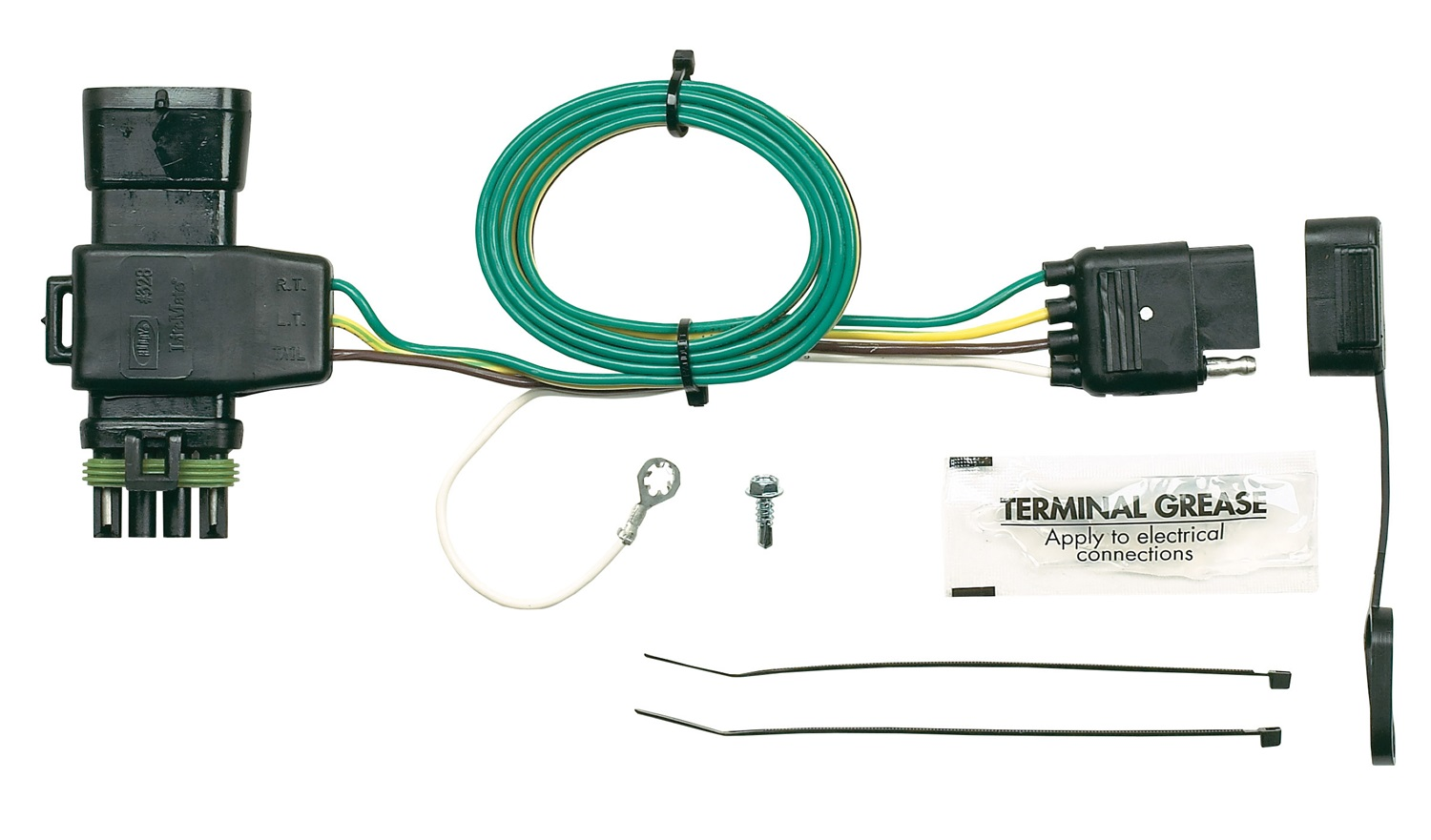 Hopkins Towing Solution 41125 Plug In Simple Vehicle To Trailer Wiring Harness