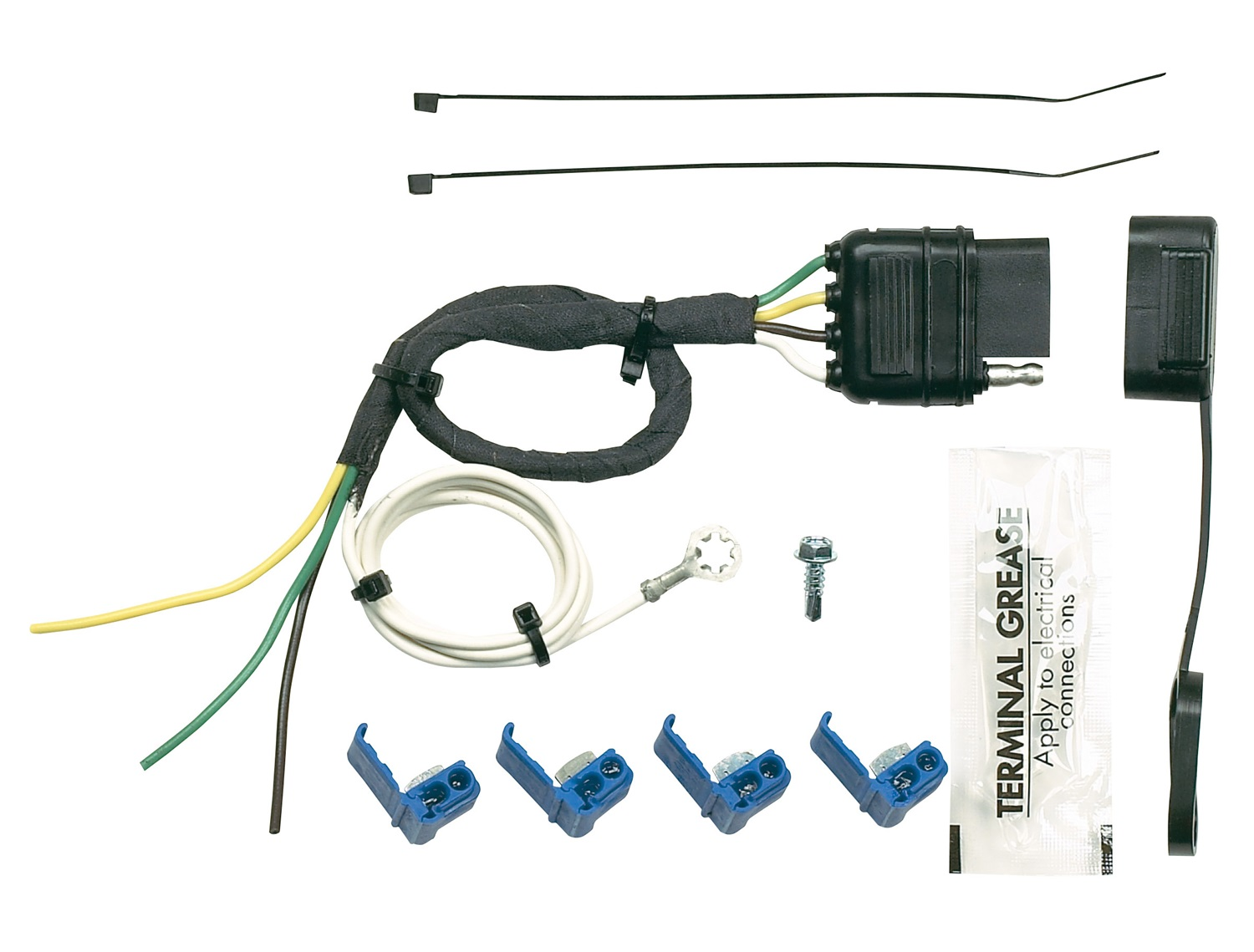 hopkins towing solution trailer wiring harness 41225. Black Bedroom Furniture Sets. Home Design Ideas