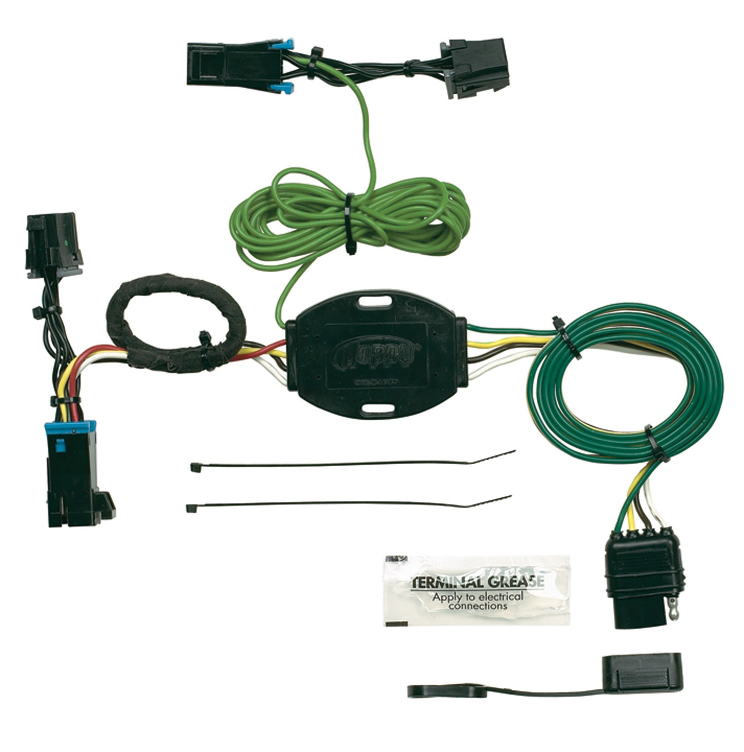 Hopkins Towing Solution 41325 Plug In Simple Vehicle To Trailer Wiring Converter Harness