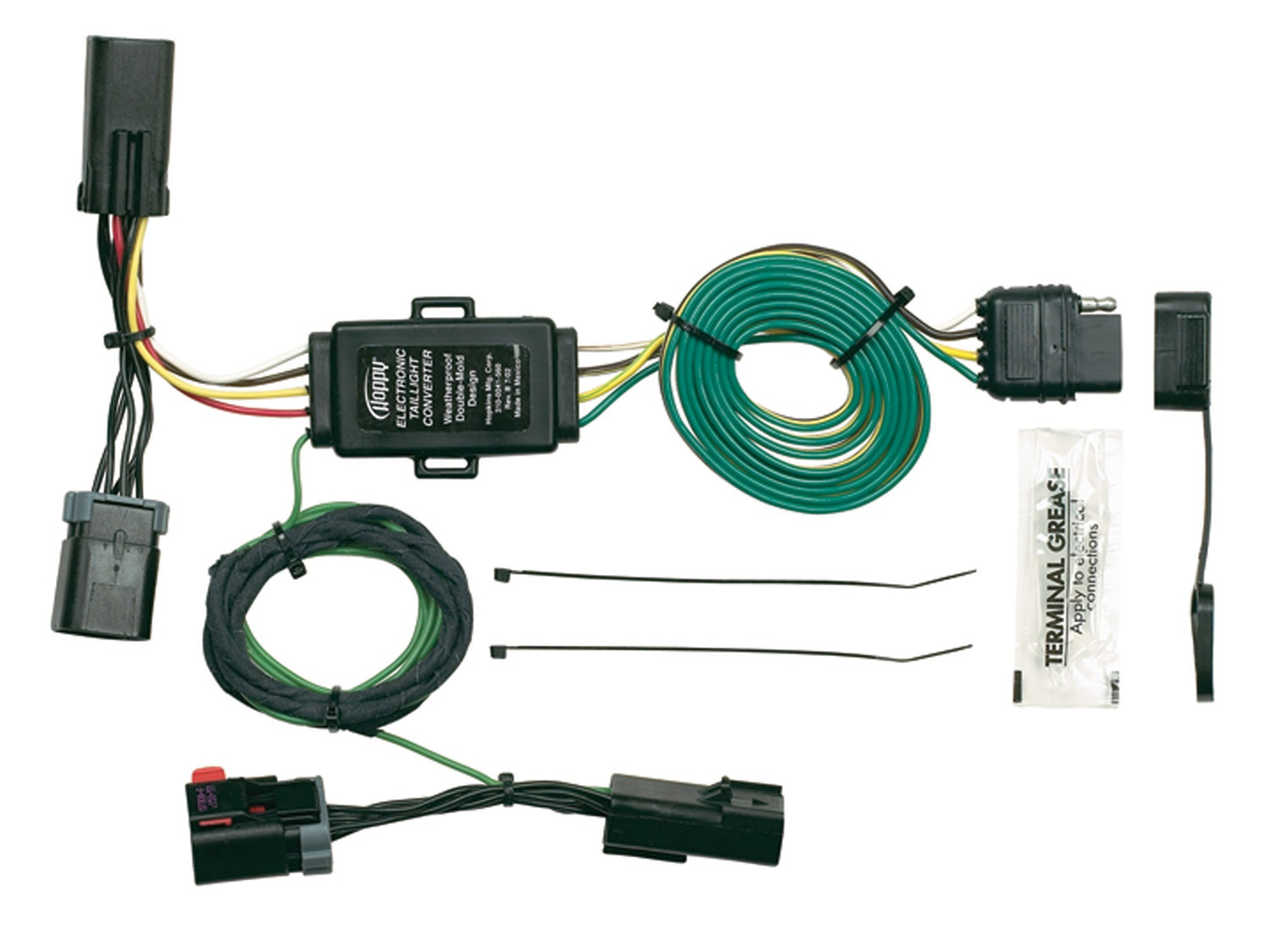 Hopkins 40455 Vehicle to Trailer Wiring Kit Hopkins Towing Solution HOP:40455