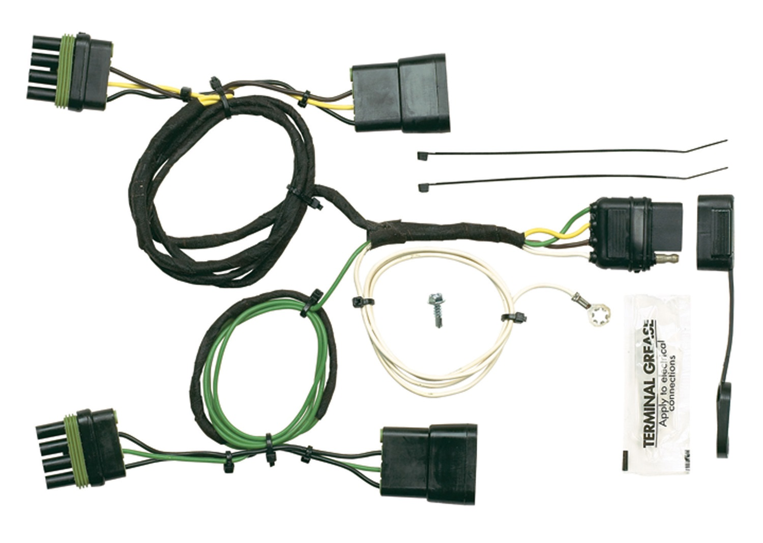 hopkins towing solution 42605 plug in simple vehicle to. Black Bedroom Furniture Sets. Home Design Ideas