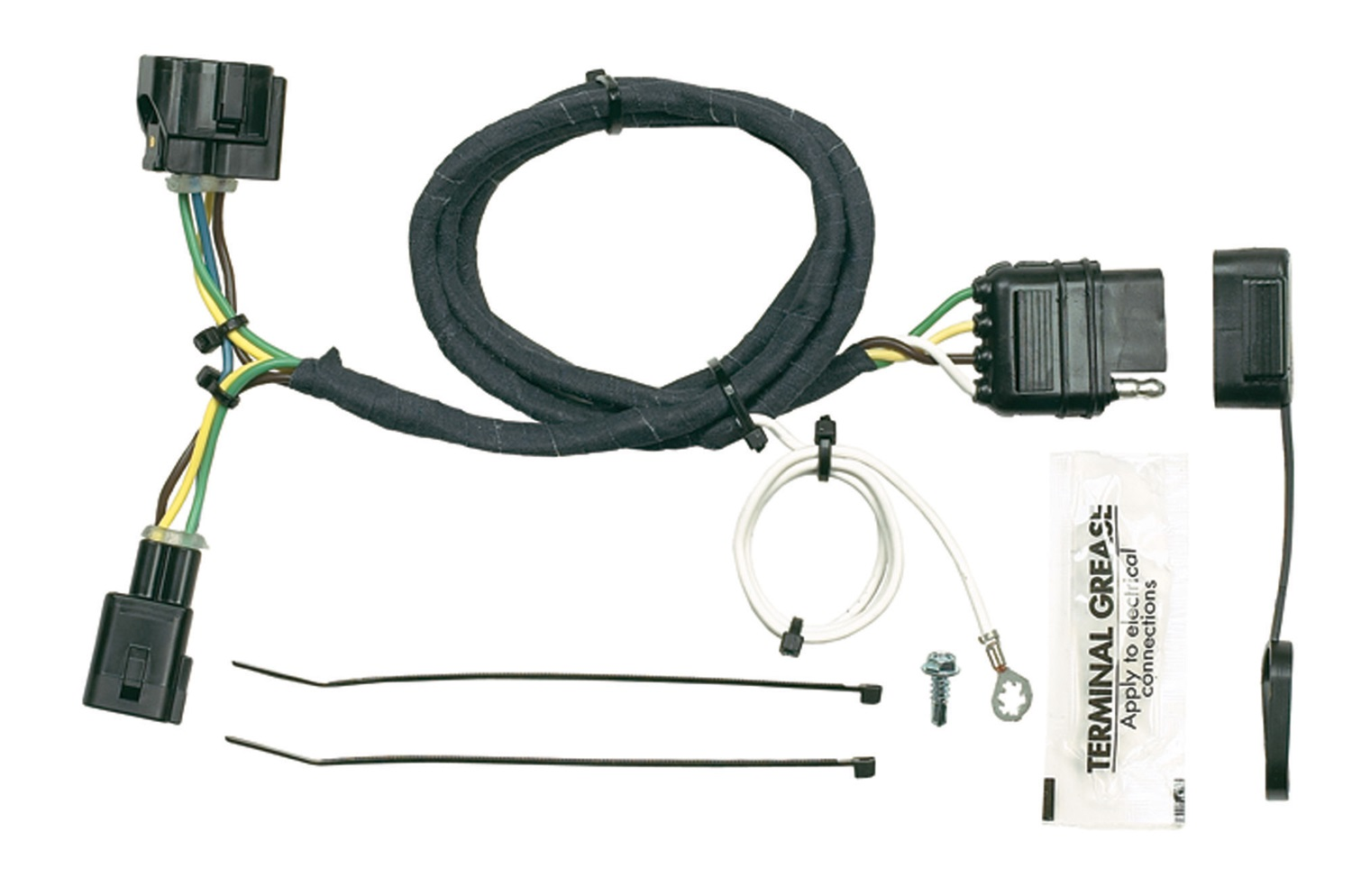 hopkins towing solution 42615 trailer wire harness simple. Black Bedroom Furniture Sets. Home Design Ideas
