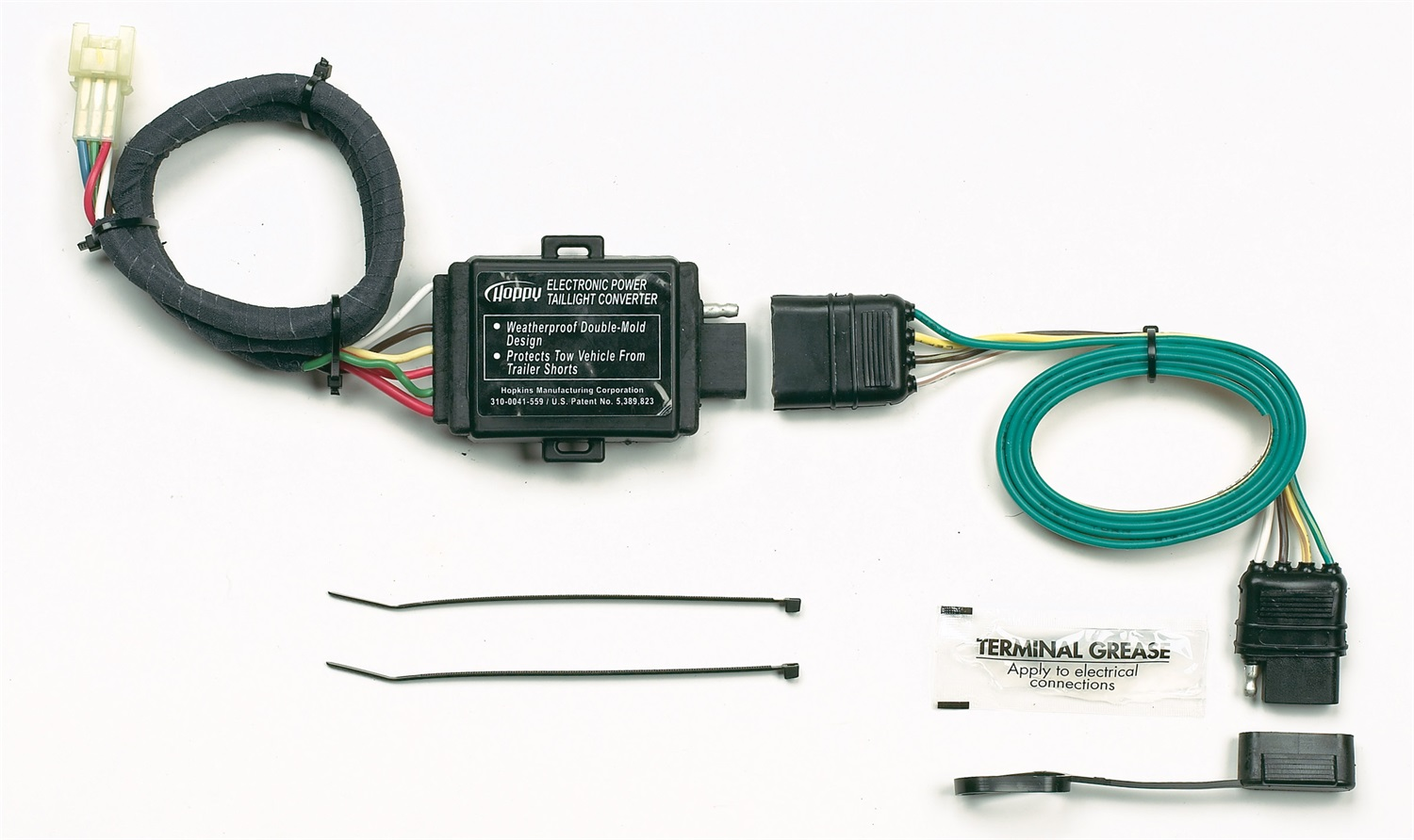 hopkins towing solution 43855 plug in simple vehicle to trailer hopkins wiring harness 47816 image is loading hopkins towing solution 43855 plug in simple vehicle