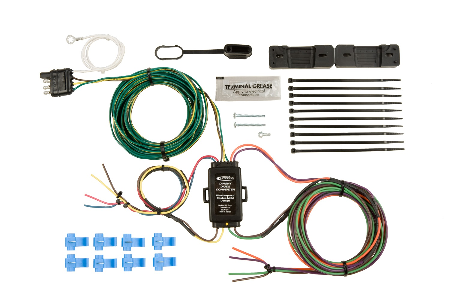 hopkins wiring harness hopkins towing solution 55999 plug-in simple vehicle to ...