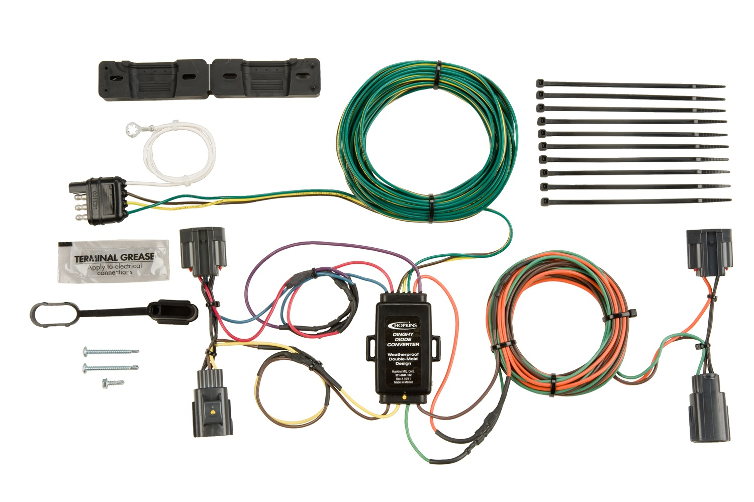 Vehicle Specific Trailer Wiring Harness Library