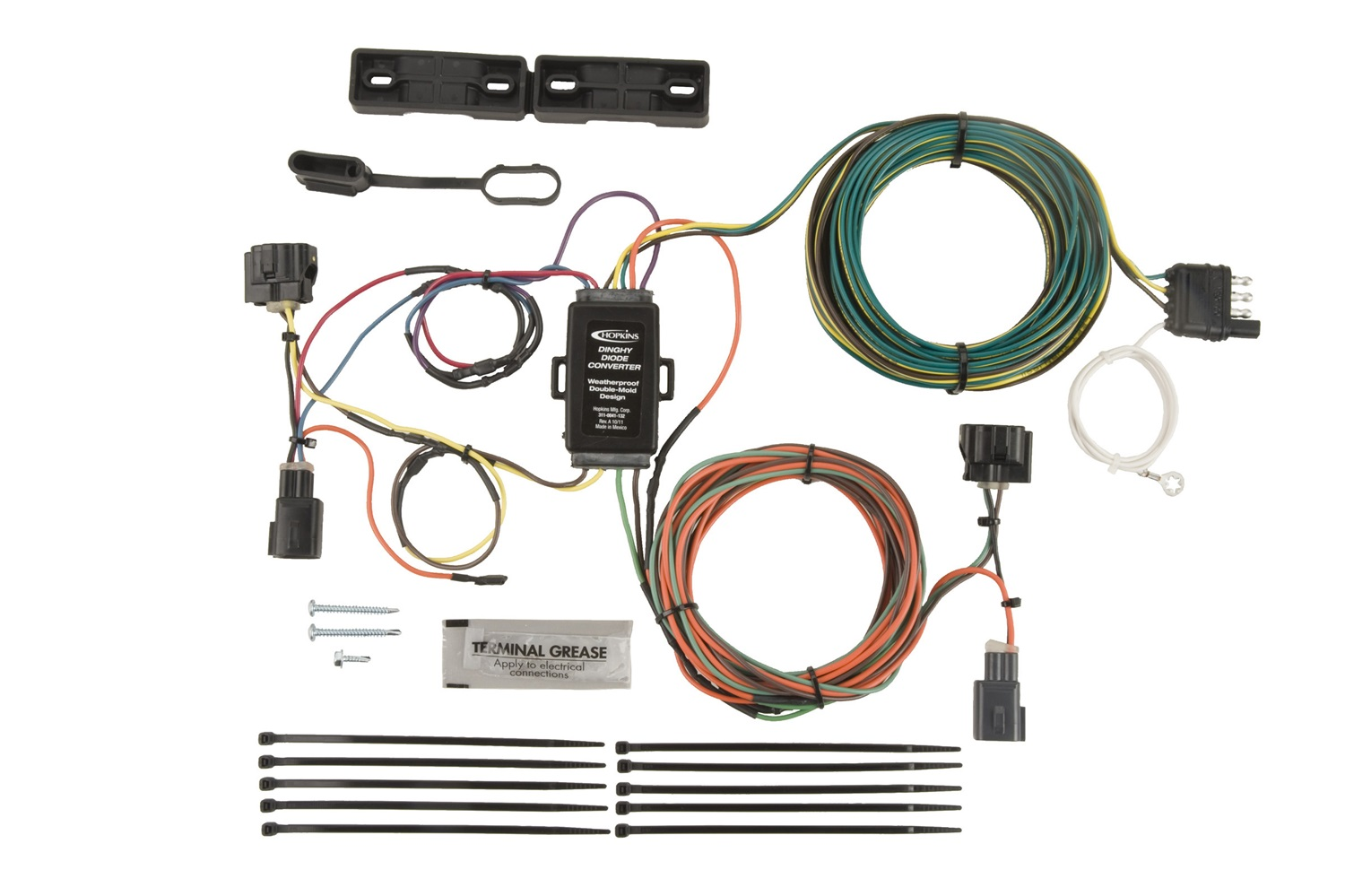 Hopkins Towing Solution 56202 Plug In Simple Vehicle To Trailer Wiring Specialties Review Harness