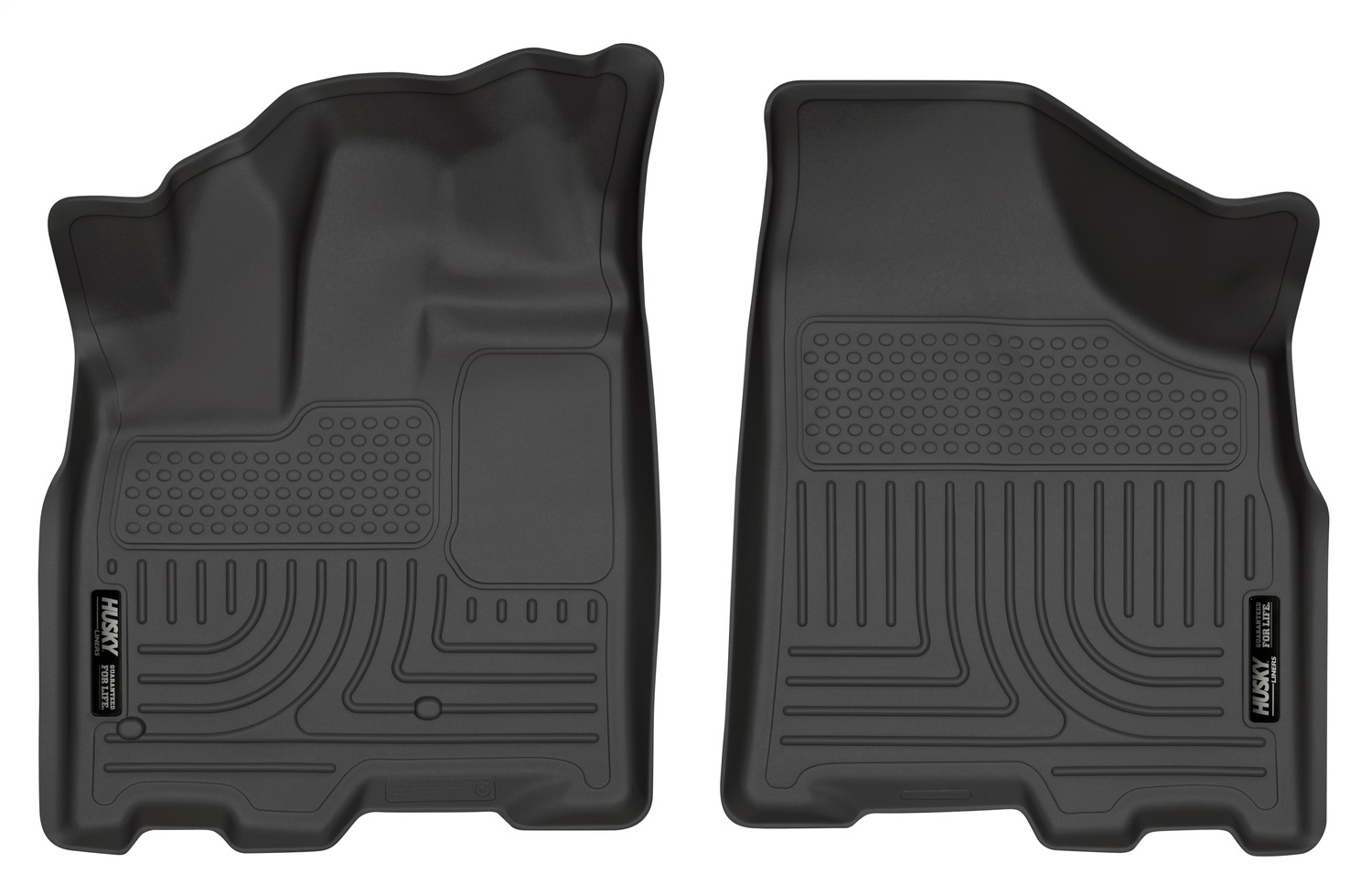WeatherBeaterT Floor Liner, Black, 2 pc., Front
