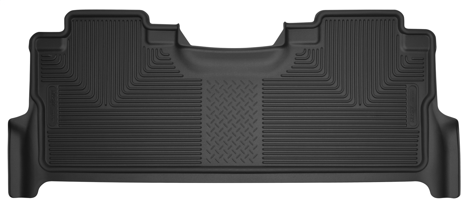 X-act ContourT Floor Liner, Black, 1 pc., Rear, Footwell Coverage