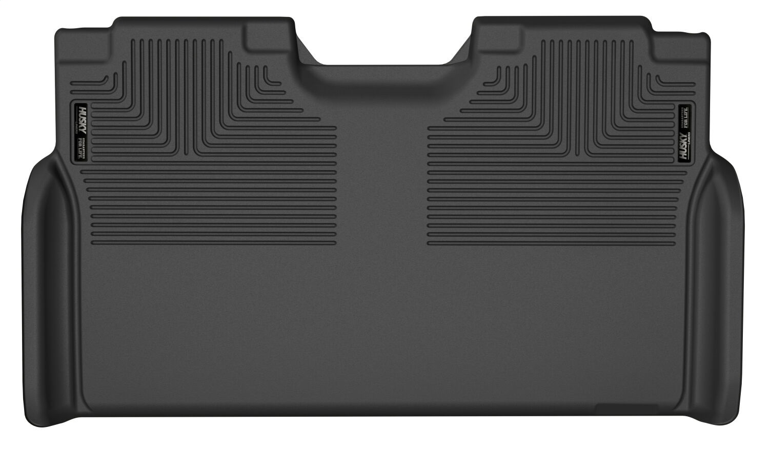 X-act ContourT Floor Liner, Black, 1 pc., Rear, Full Coverage Including Under 2nd Row Seat