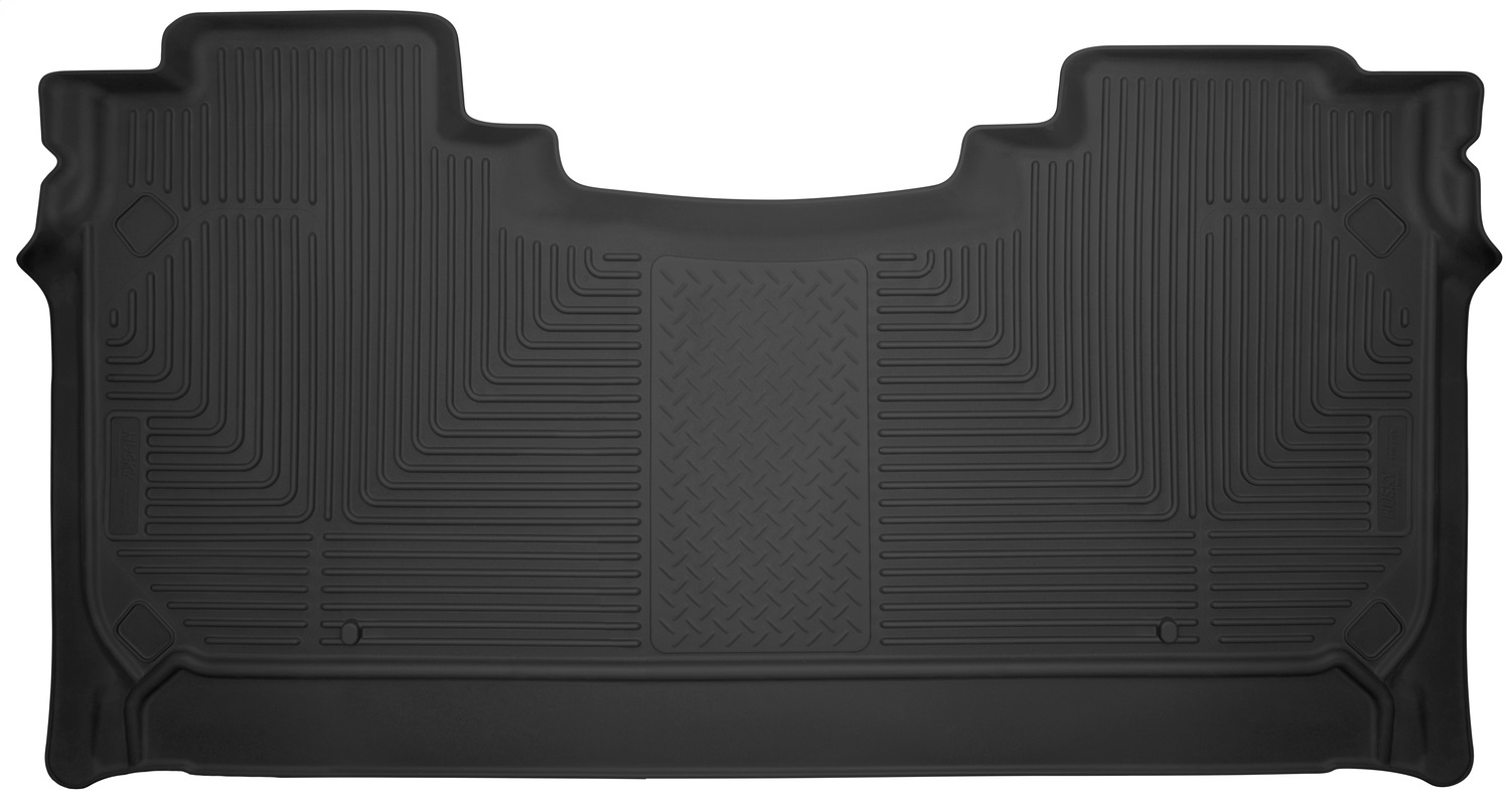 X-act ContourT Floor Liner; Black; 1 pc.; Rear;